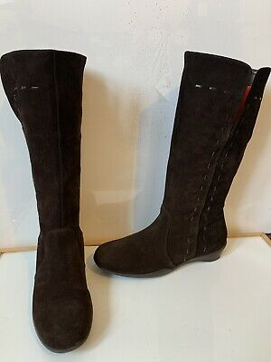 Lazy Joe's Comfy Leather Boots Size UK 6 EU 39 in excellent  condition