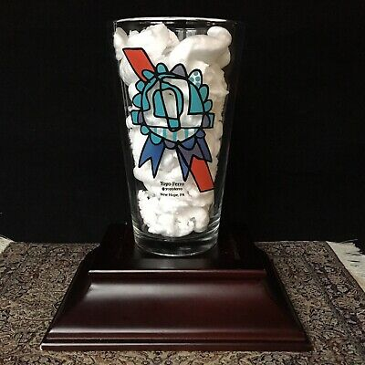 Pabst Blue Ribbon Collectible PBR Art Pint Bar Beer Drinking Glass Yoyo Ferro