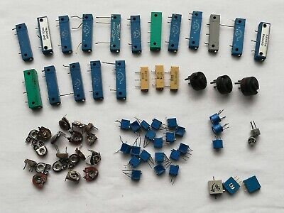 Trimmer trimpot potentiometers - various values - Joblot