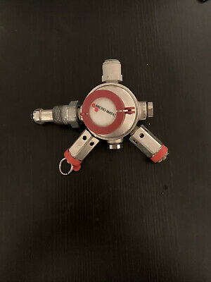 Micromatic Beer Gas Regulator ..Bottle Mount Co2 Primary Reg Pub Cellar