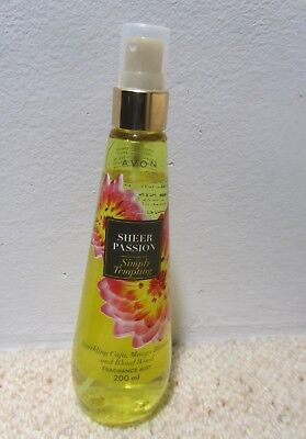 Avon Sheer Passion Simply Tempting Fragrance Mist 200ml