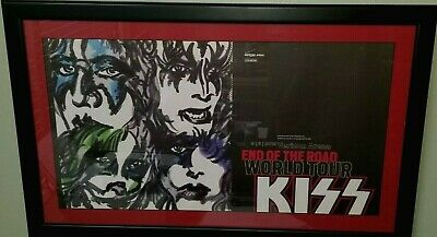 KISS, Verizon Arena 9/5/2019 End Of The Road World Tour Concert Poster Lmtd 300