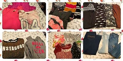 junior girls mixed winter clothing lot 33 pieces