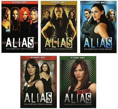 ALIAS Complete Series Seasons 1-5 DVD Bundle BRAND NEW Free Ship