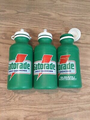 Specialized Gatorade 20 Ounce Water Bottle Vintage 1990 1991 Green New Old Stock