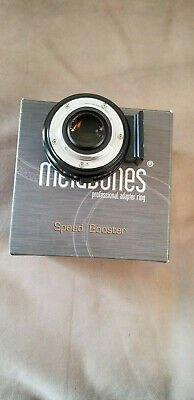 Nikon F to Micro 4/3 (Micro Four Thirds) Metabones Speed Booster Adapter  0.71