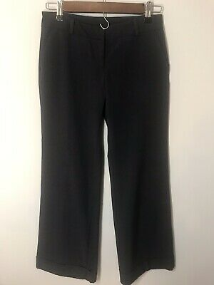 New York & Company Women's Size 2 Petite Dark Brown Stretch Pants