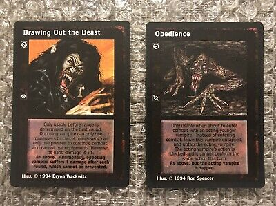 12 x Drawing out the Beast VTES CCG Jyhad