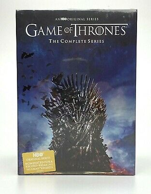 Game of Thrones: Complete Series Seasons 1-8 DVD, 38 Disc Box Set [NEW & SEALED]