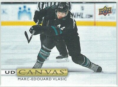 2019-20 Upper Deck Series 1 UD Canvas C75 Marc-Edouard Vlasic