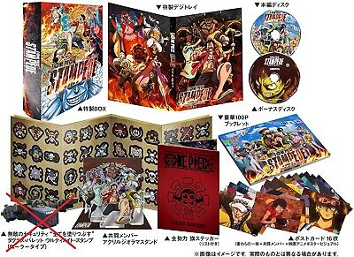 ONE PIECE STAMPEDE Blu-ray First Limited Special Deluxe Edition