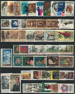 Very Nice Year of 1971-1973 US (8 Cent)  Stamps Collections lot (used)