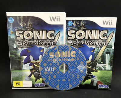 Sonic and the Black Knight - Nintendo Wii - Restored & Complete with Manual