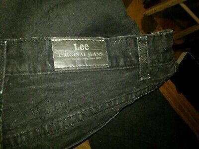 "LEE Jet black women's Jeans size 18""-20"" 1889 original inseam 29"" legs"