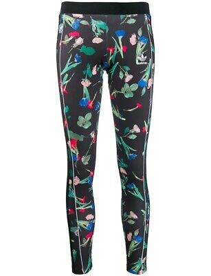 Adidas Originals Women's FLORAL ALLOVER PRINT TIGHTS Multicolor EC5773 d Size XS
