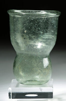 Late Roman Glass Cup - Interesting Form