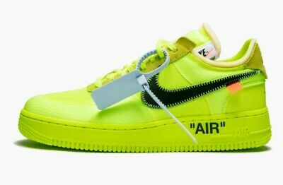 Air Force 1 Low Off White Volt Virgil Abloh on the account