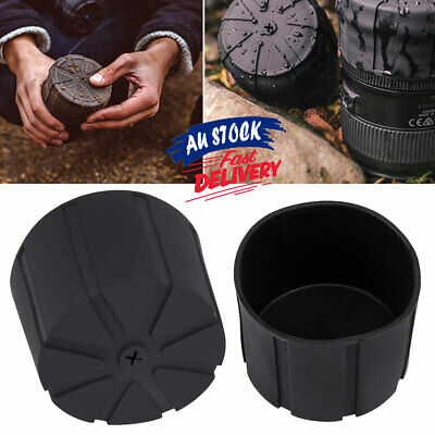 Lens Cover Fallproof Universal Silicone DSLR Anti-Dust Cap Camera Protector