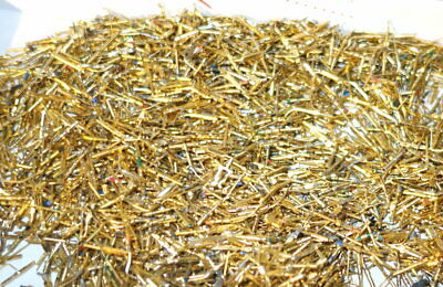4 oz  Gold Plated Scrap Recovery Pins Connectors    FREE SHIP  (BB1 PP4)