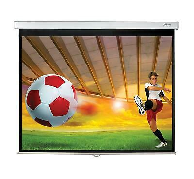 Brand New Optoma Ds-9084Pmg+ 84-Inch Panoview Projection Screen - Dual Wall