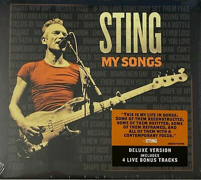 Sting - My Songs (CD-Digipak) New Sealed Free UK P&P