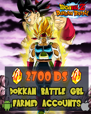 ⭐5th ANNIVERSARY⭐DOKKAN BATTLE JP/JAP 2900 DS farmed account READ DESCRIPTION
