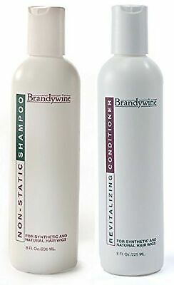 Brandywine Non Static Shampoo & Revitalizing Conditioner 8 Ounce., Value Pack...