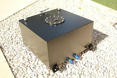 40 Litre Fuel Cell/tank With Level Sender Unit, Black Coating