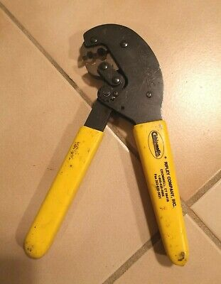 Times Ripley Cablematic 42650 CT 240//200//100 Hex Jaw Crimp Crimper Cable Tool