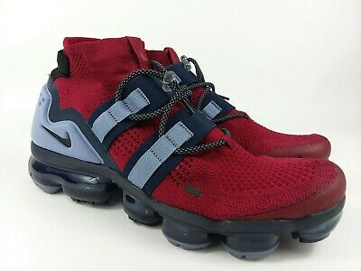 Nike Air Vapormax Utility Flyknit Team Red Black AH6834 600 Mens Size 11 NEW