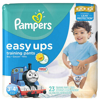 Pampers Easy Ups Boys' Training Pants, Size 3-4 Years, 23 Pants