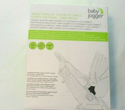 Baby Jogger Car Seat Adapter Single Stroller Chicco KeyFit Peg Perego City Mini