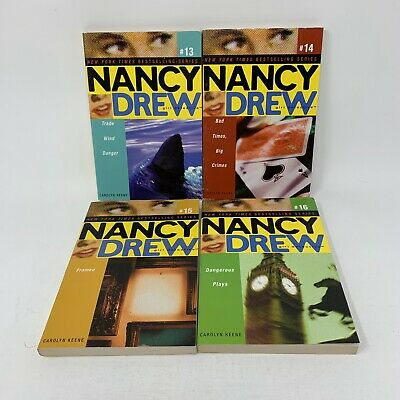 Nancy Drew Girl Detective Books 13-16 Set 4 PB Books Carolyn Keene