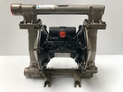 "Graco Husky 1050 Stainless Steel 1"" Air Operated Double Diaphragm/ Transfer Pump"