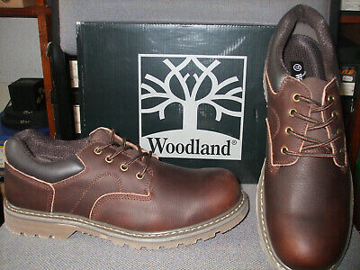 WOODLAND Utility M 877 Padded Goodyear Welted Formal Lace Up Shoes Dk.Brown Tumb