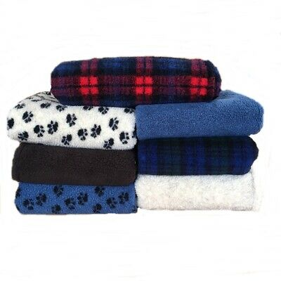 PnH® Dog / Pet Blanket - DOUBLE LAYERED - LARGE 150cm x 140cm - Choice of Colour
