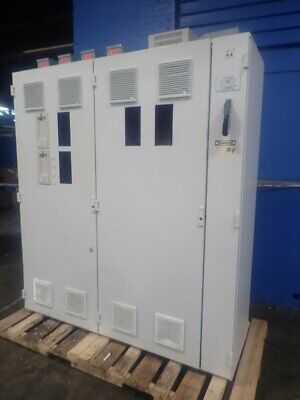 "ABB  ELECTRICAL CABINET W/ DRIVE 21 1/2"" x 20 1/2"" x 78"" 1/2"" 04191261225"