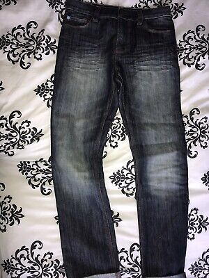 Boys Next Adjustable Waist Dark Skinny Jeans Age 12