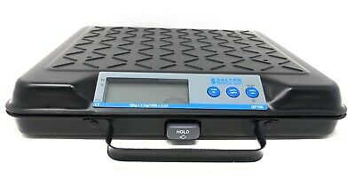 Salter Brecknell Portable LED Backlit Electronic Utility Scale 100 pound GP100