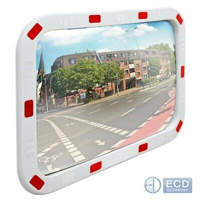Security wide angle mirror traffic road safety driveway view rectangle 40x60cm