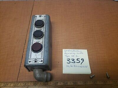 Westinghouse Reversing Switch Push button TypeSd-2
