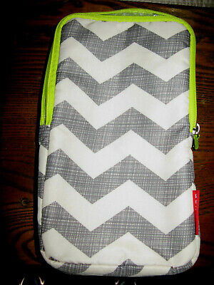 Skip Hop  BOTTLE BAG - CHEVRON Baby Insulated Bottle Bag