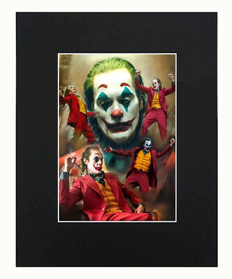 Harley Quinn And Deadpool Art Print Picture photo Display Decor 8x10 Matted