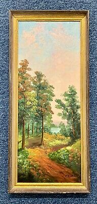 Joseph Collazzi Landscape Canvas Oil Painting 1914-1989 Signed Listed Artist