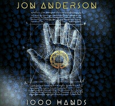JON ANDERSON Music 1000 HANDS Chapter One CD Yes 2019 CD (Jewel Case)