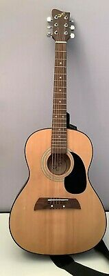Vintage First Act Model MG555 Acoustic RH Right Handed Guitar w/ Original Strap