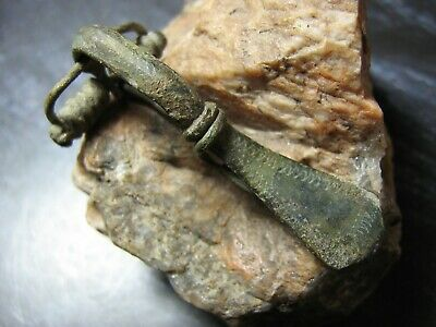 Roman Fibula Brooch - Rome - Europe 2000 yrs old.Ancient artifact.