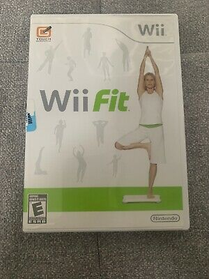 Wii Fit - Nintendo Game With Manual