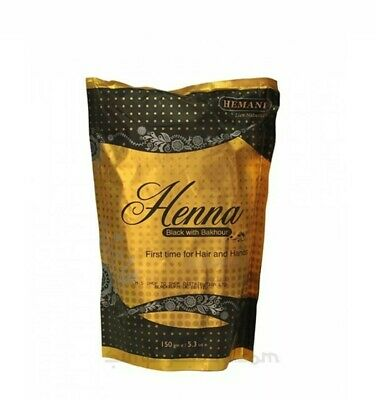 **SALE** Black with Bakhoor by Hemani Henna Natural Hair Dye Mendi