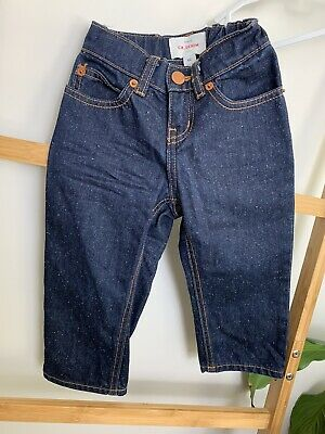 COUNTRY ROAD Baby Toddler Kids Size 2 Blue Denim Jeans Boys & Girls Unisex